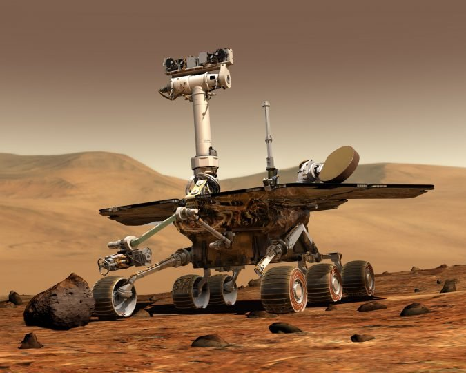 NASA's Opportunity rover. Credit: NASA