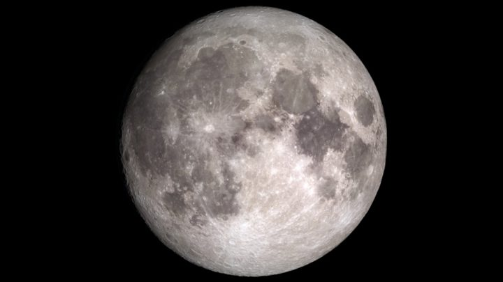 View of the Moon. Credit: NASA's Goddard Space Flight Center
