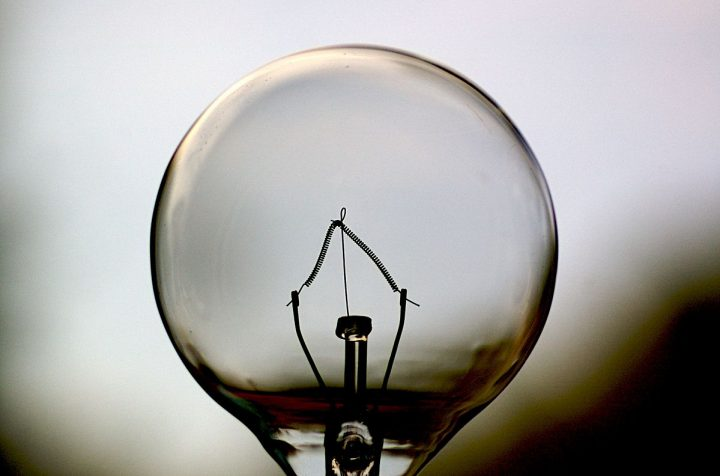 Light bulb. Image credit: Jeff Kubina via Flickr, CC-BY-SA-2.0