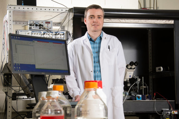 Mark Parker, PhD, Assistant professor, Department of Physiology and Biophysics, Jacobs School of Medicine and Biomedical Sciences