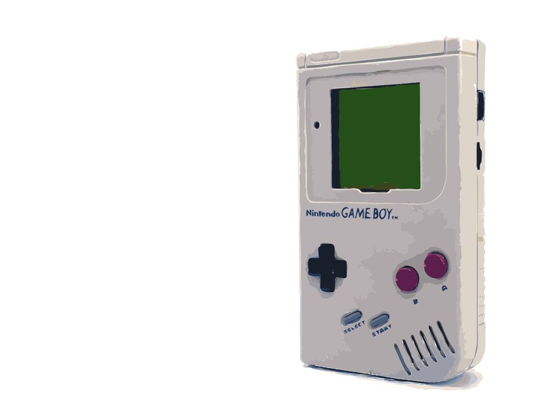 Because 25 years ago, everyone played Pokémon on the same Gameboy device (above), it offered the researchers a built-in unintended but well-controlled experiment to study the brain's organizational structure. Image credit: goodfreephotos.com, CC0 Public Domain