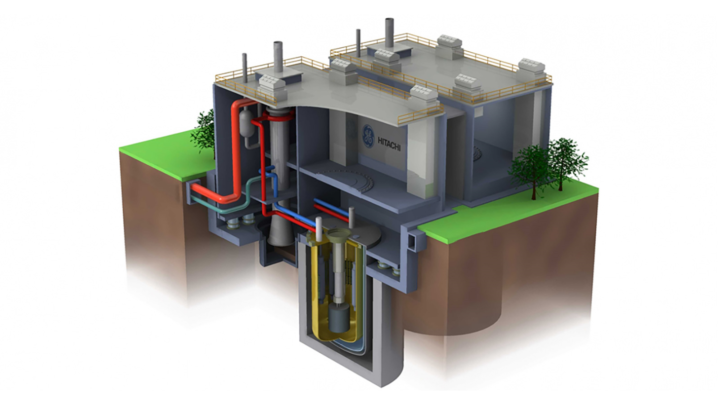 GE Hitachi Nuclear Energy is working with the U.S. Department of Energy on the Versatile Test Reactor concept design that is based off of its PRISM reactor. (Image by GE Hitachi Nuclear Energy.)