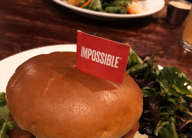Impossible burger. Image credit: Tony Webster via Flickr, CC BY 2.0