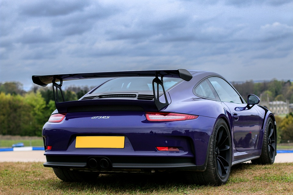Porsche 911 GT3 RS. Image credit: Toby_Parsons via Pixabay (Free Pixabay licence)