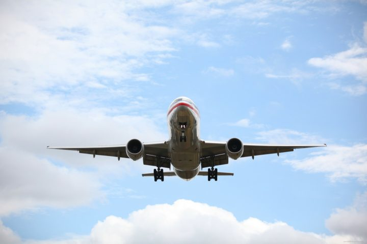 Adding lithium-ion batteries to a regional airplane could reduce that airplane's fuel needs by up to 20 percent, new research shows. Image credit: Daniel Smith via PublicDomainPictures.net, CC0 Public Domain