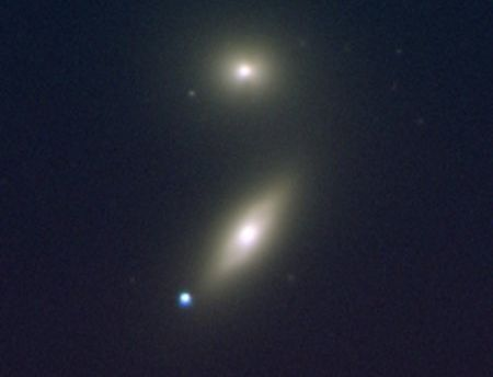 Image of a Type Ia supernova. Image credit: Zwicky Transient Facility