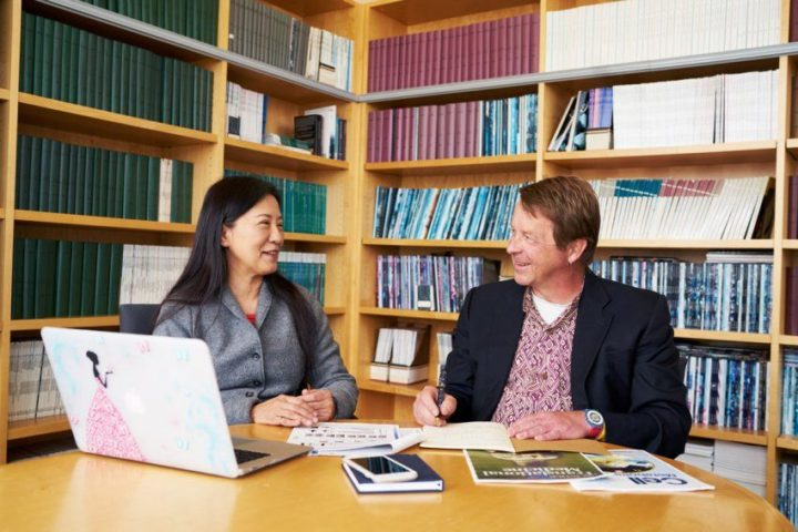 "Ying-Hui Fu, PhD, and Louis Ptáček, MD, senior authors of the study in which they identified a third ""short sleep"" gene. The researchers believe this latest discovery may one day lead to a druggable target for therapies that improve sleep and treat sleep disorders."