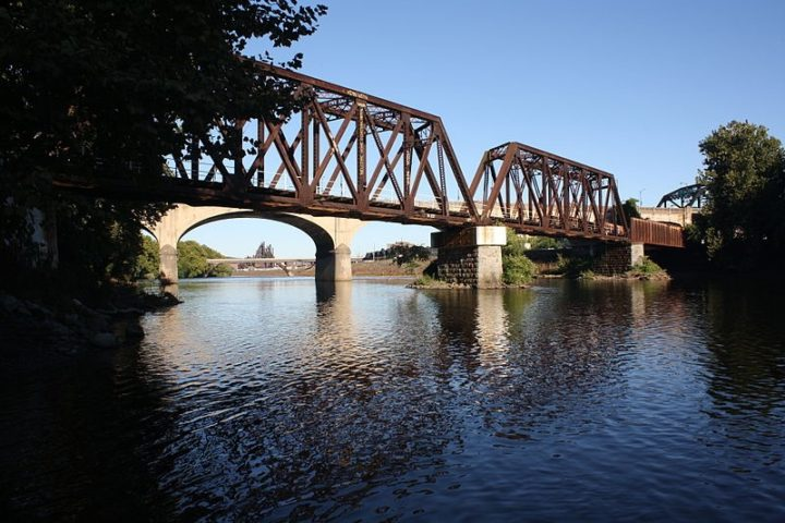 Researchers are quantifying the effects of climate change on bridges. Image credit: Wikimedia/Shuvaev, CC-BY-SA-3.0