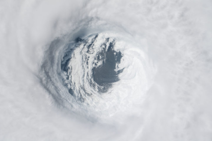 This image from the Gateway to Astronaut Photography of Earth collection shows the eye of 2018's Hurricane Michael. Such images contribute to preparation and planning for disaster response efforts. Credits: Earth Science and Remote Sensing Unit, NASA Johnson Space Center
