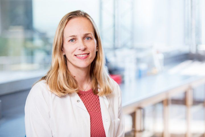 Tiffany Scharschmidt, MD, principal investigator of the study.