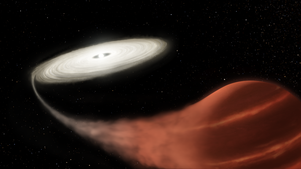 NASA's Kepler Witnesses Vampire Star System Undergoing Super-Outburst - technology