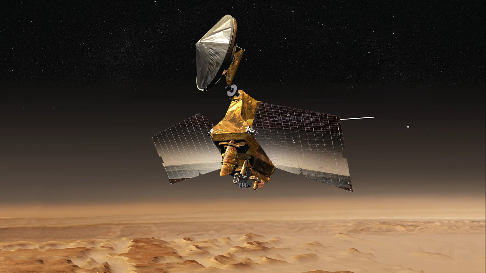 NASA's Mars Reconnaissance Orbiter Undergoes Memory Update - technology