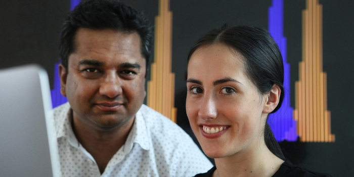 Sara Garcia and Ramneek Gupta. Image credit: DTU