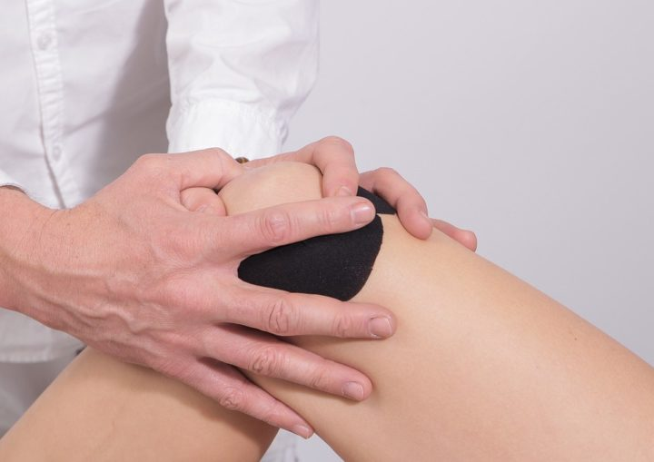 Knee physical therapy.