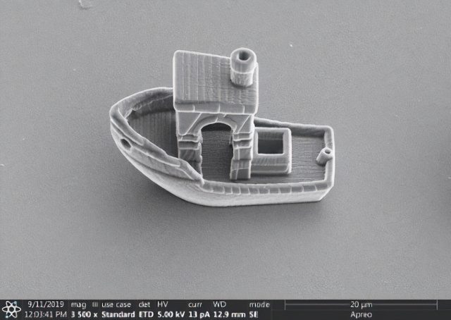 Leiden University Researchers 3D-Print a Cell-Sized Tugboat - technology