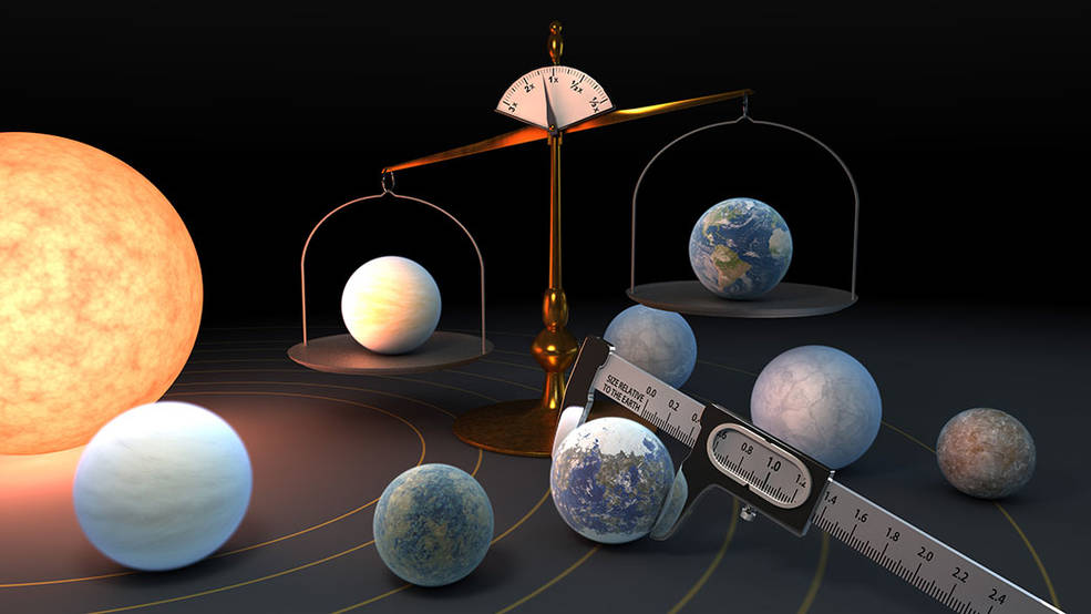 The 7 Rocky TRAPPIST-1 Planets May Be Made of Similar Stuff - technology